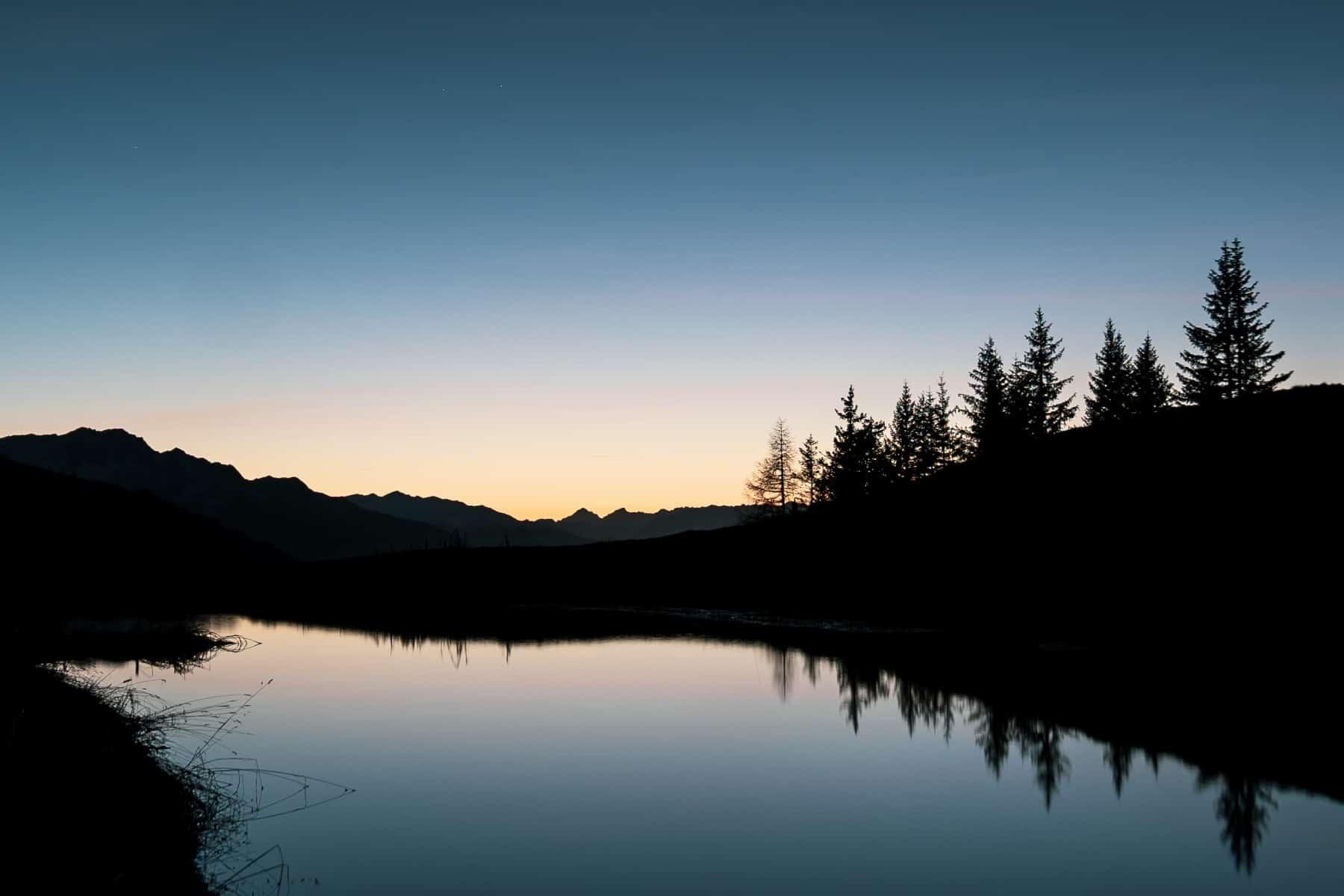 Sonnenuntergang Brambrüesch